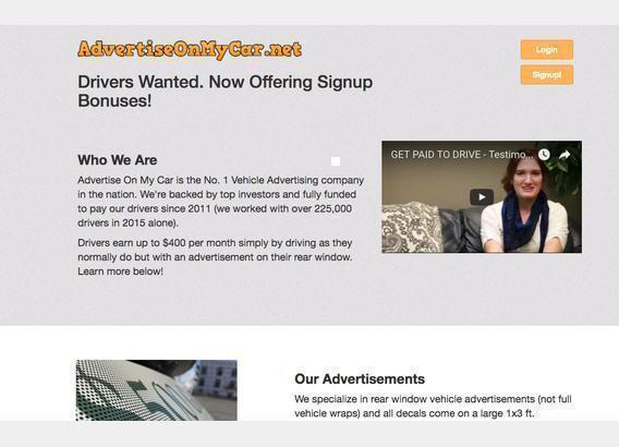 Advertiseonmycar net >> 45 Complaints and Reviews | #ReportScam
