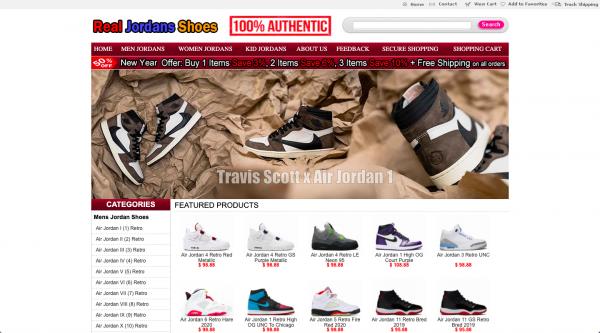 Realjordansshoes.com \u003e\u003e 1 Complaints